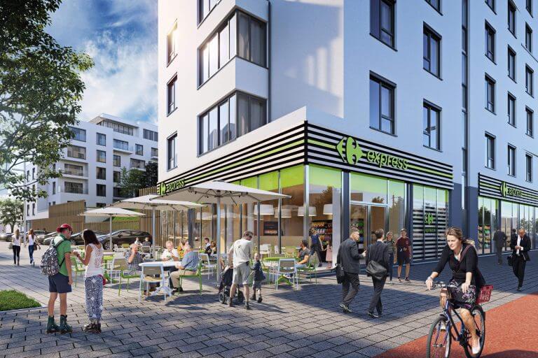 Résidence services City Dox - Immobilier neuf à vendre Bruxelles| Qubrik
