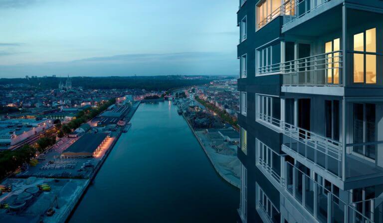 Up-site appartements neufs à vendre – Immobilier neuf Bruxelles| Qubrik