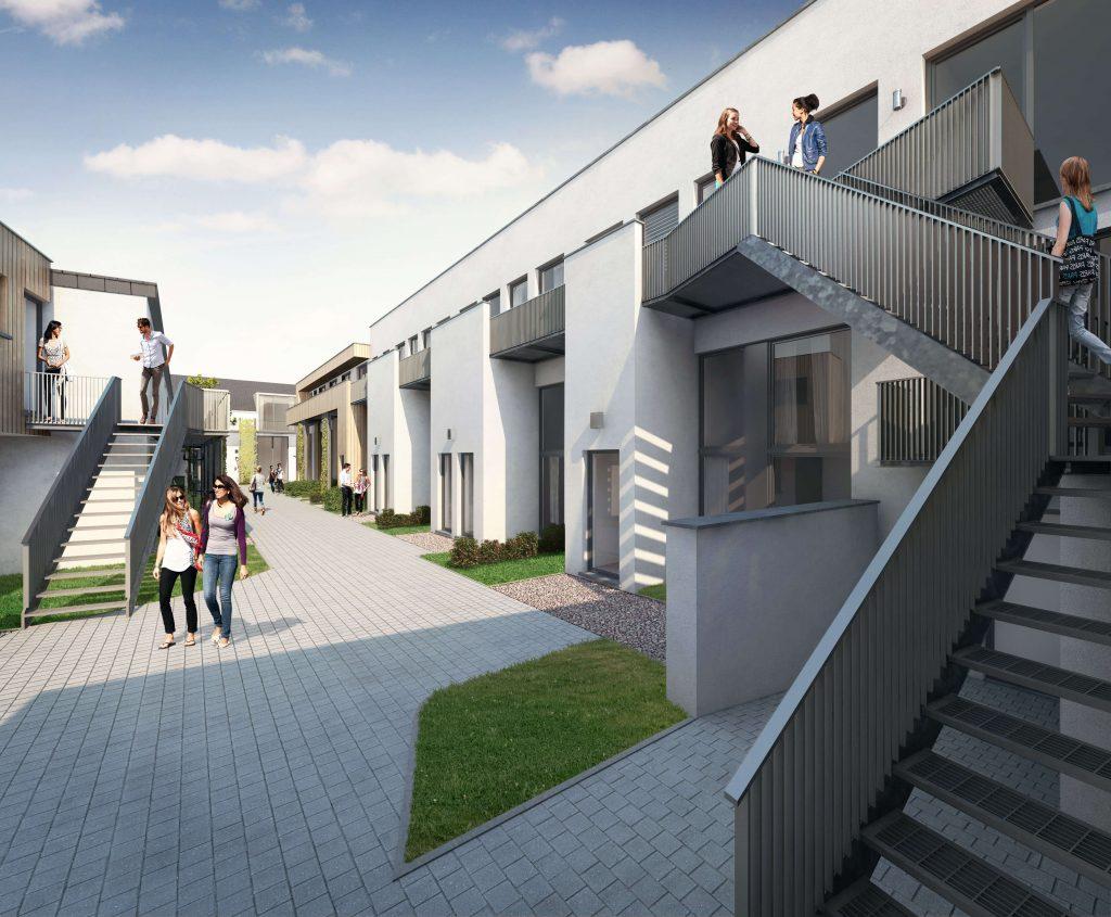 R sidence tudiante neuve vendre immobilier neuf qubrik for Residence immobilier