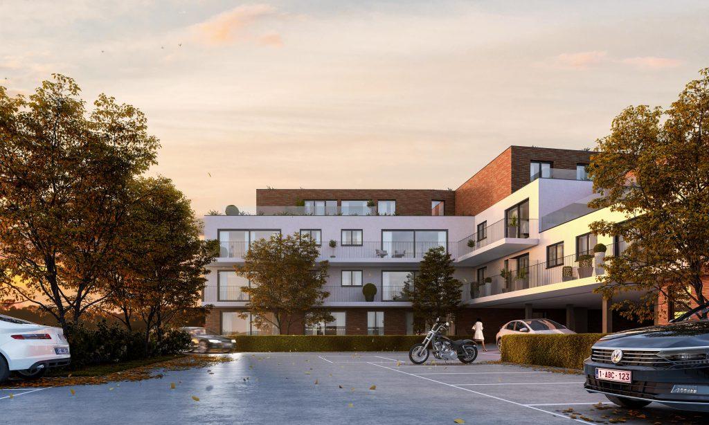 M360° Merelbeke nieuwbouw appartementen